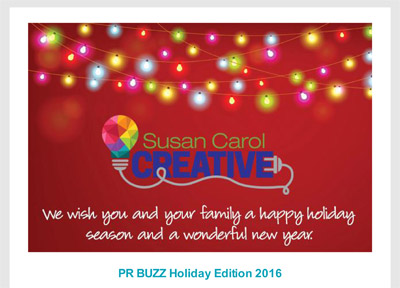 PR Buzz Holiday Edition Features Agency's Top Blogs